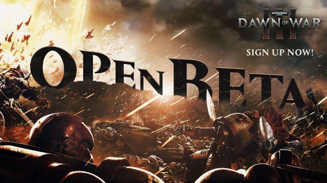 Вскоре откроется открытая бета Warhammer 40 000: Dawn ofWar 3