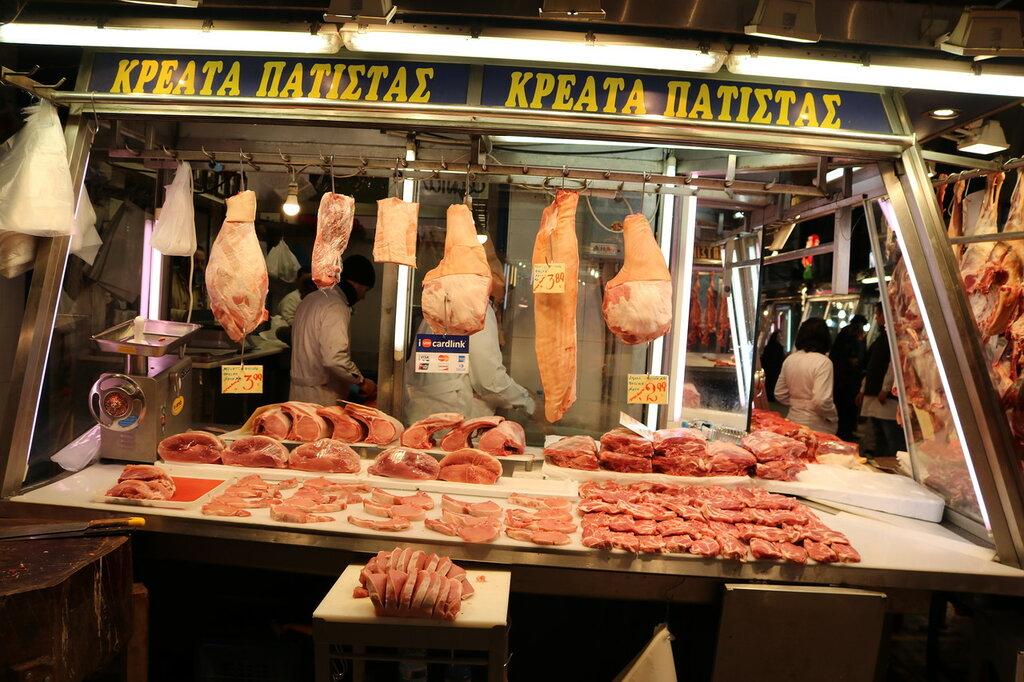 Центральный рынок Афины