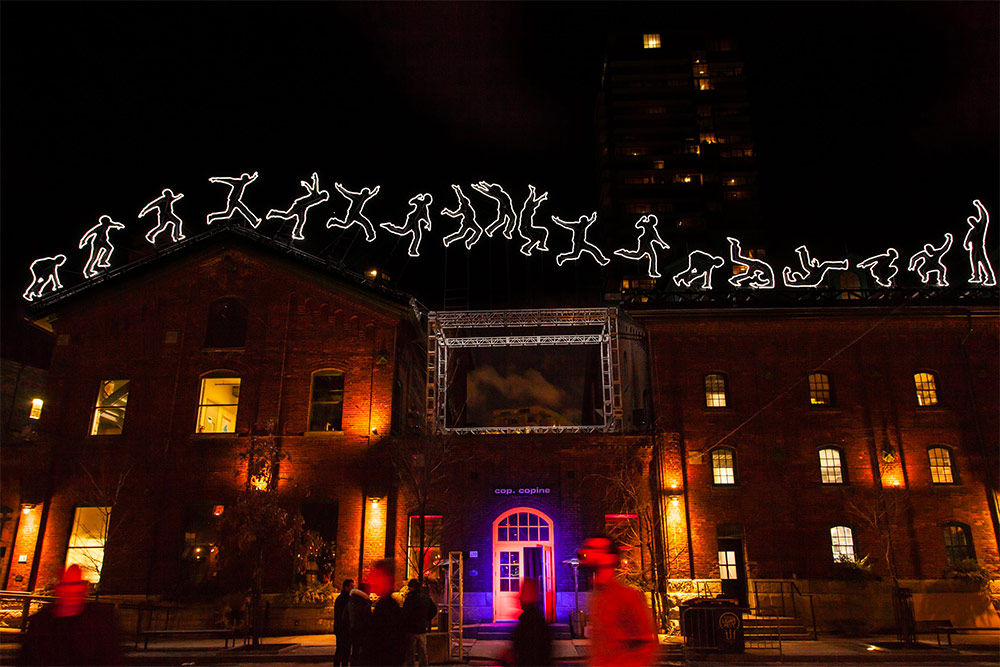 Local and International Artists Produce 21 Light Installations For the Inaugural Toronto Light Festival