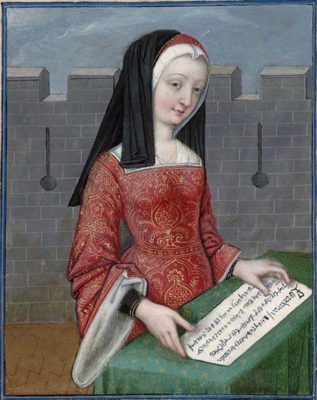 Briseis -- Huntington Library Ms HM 60, f°11v Les XXI Epistres des Dames illustres traduicttes d'Ovide par le Reverend Pere en Dieu Monseigneur l'Evesq.jpg