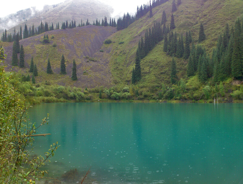 Вода озера Каинды