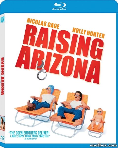 Воспитание Аризоны / Воспитывая Аризону / Raising Arizona (1987/BDRip/HDRip)