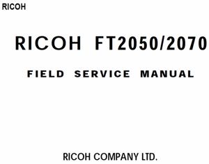 service - Инструкции (Service Manual, UM, PC) фирмы Ricoh - Страница 2 0_1b1e04_d788efe3_orig