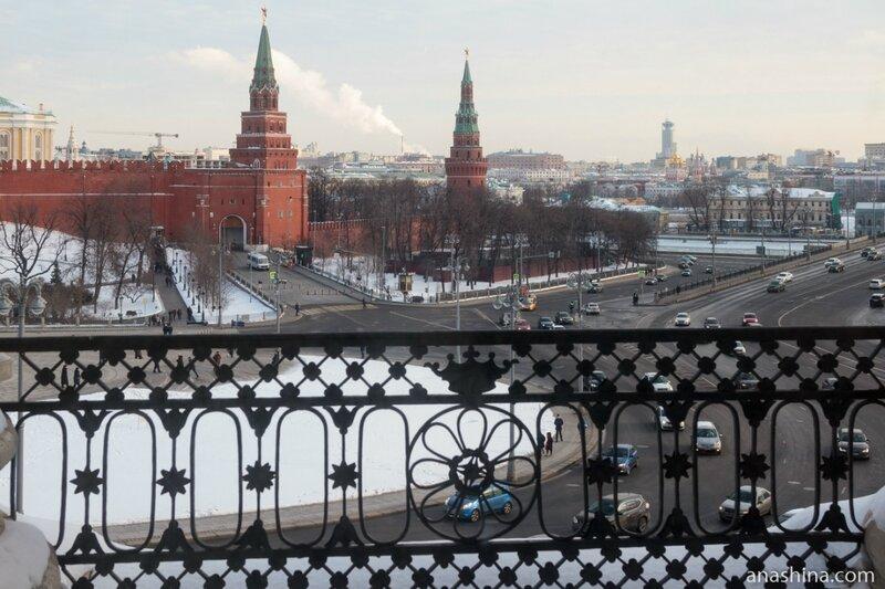 """Балкон трех императоров"", дом Пашкова"