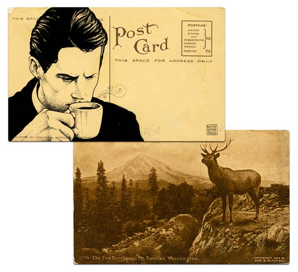Twin Peaks Postcards - Hommage a David Lynch