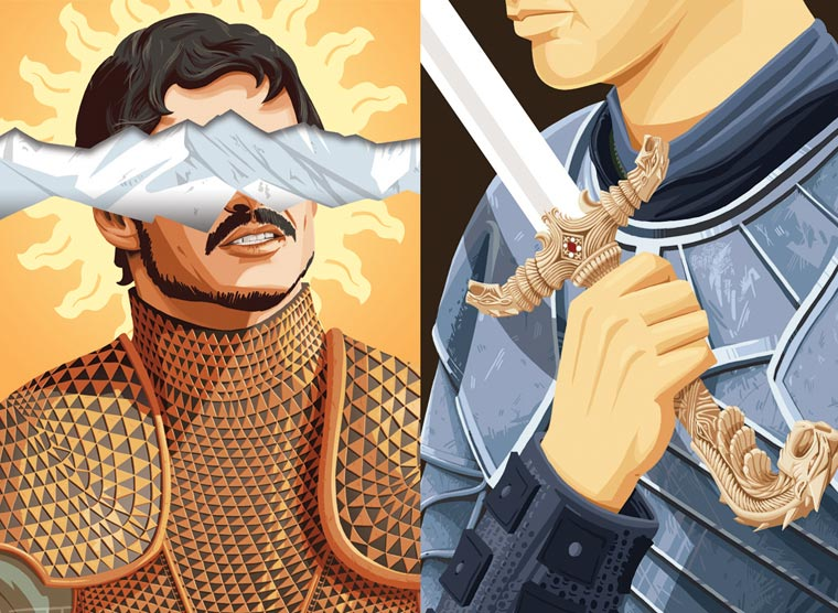 Game of Thrones - 10 illustrated lessons learned from our favorite characters