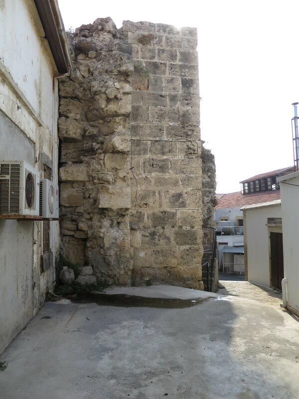 Кирения. Кладка южной стены