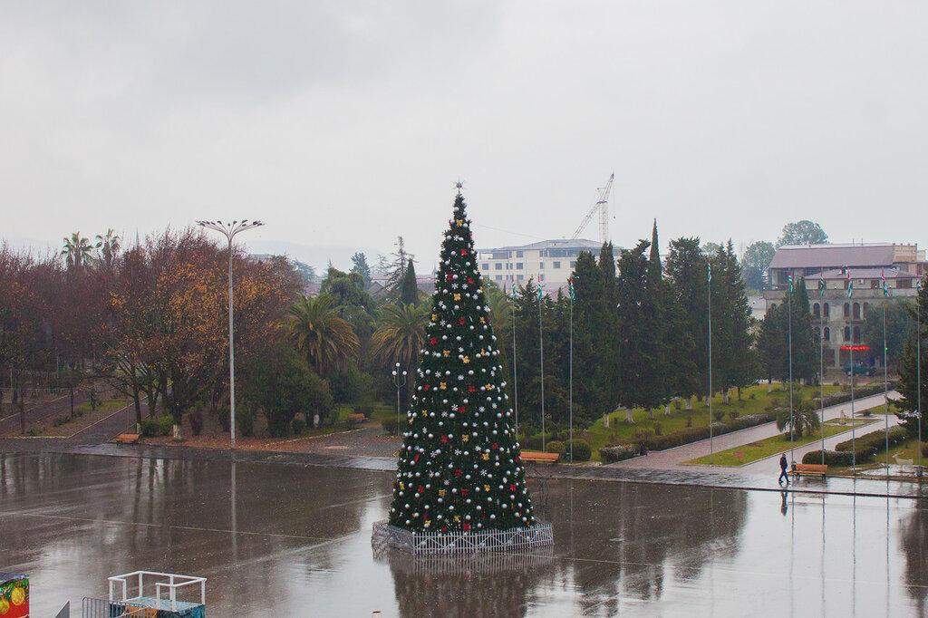 «абхазия-зимой»