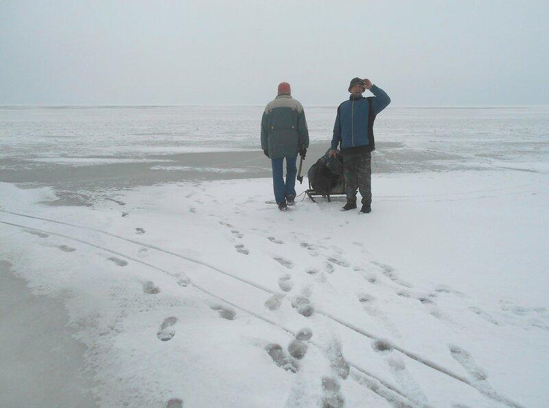 В походе, море, лёд и снег ... DSCN1178.JPG