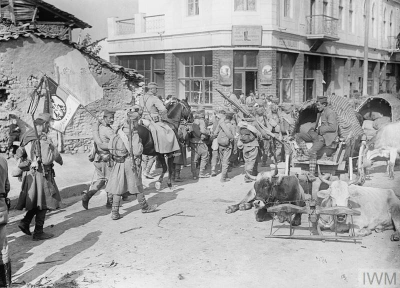 THE FIRST BALKAN WAR, 1912-1913