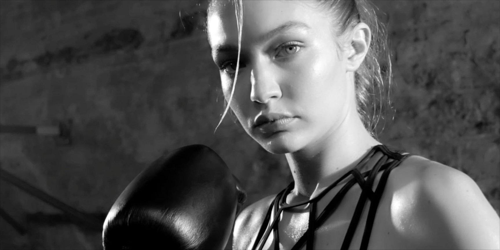 Джиджи Хадид в рекламной кампании Reebok 2016/2017 - Gigi Hadid by Cathrine Wessel