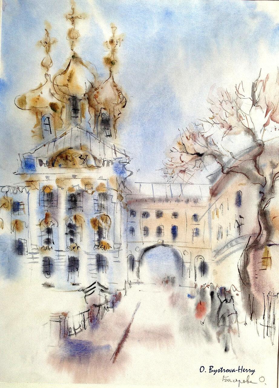 POUCHKINE St.Pétersbourg Palais Catherine