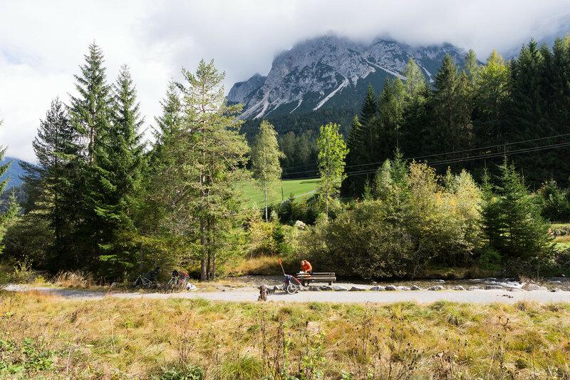 горы вокруг Бибервир (Biberwier), Альпы, Австрия