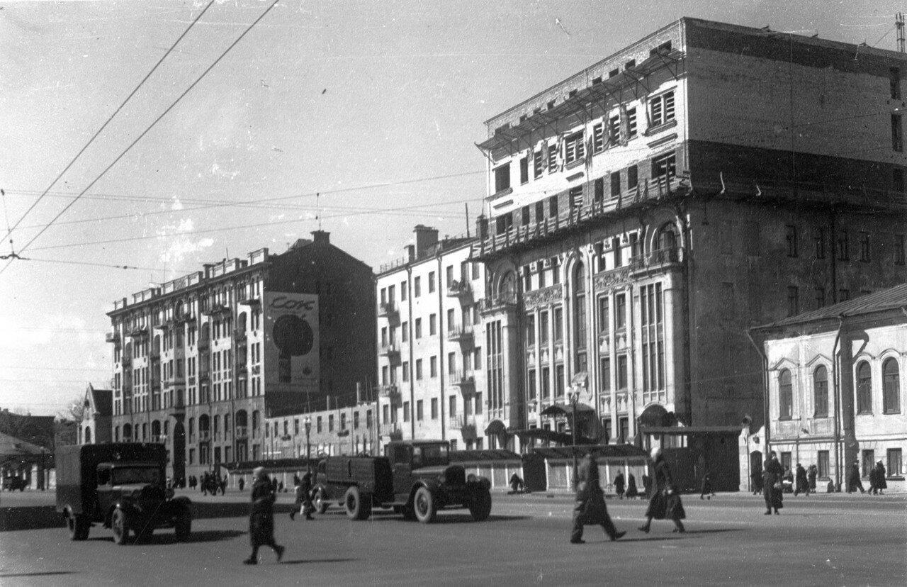 1940. Садовая-Кудринская улица