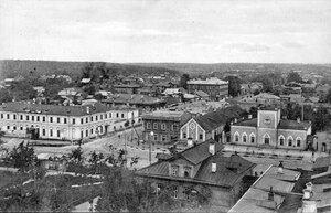 Вид на город Лугу