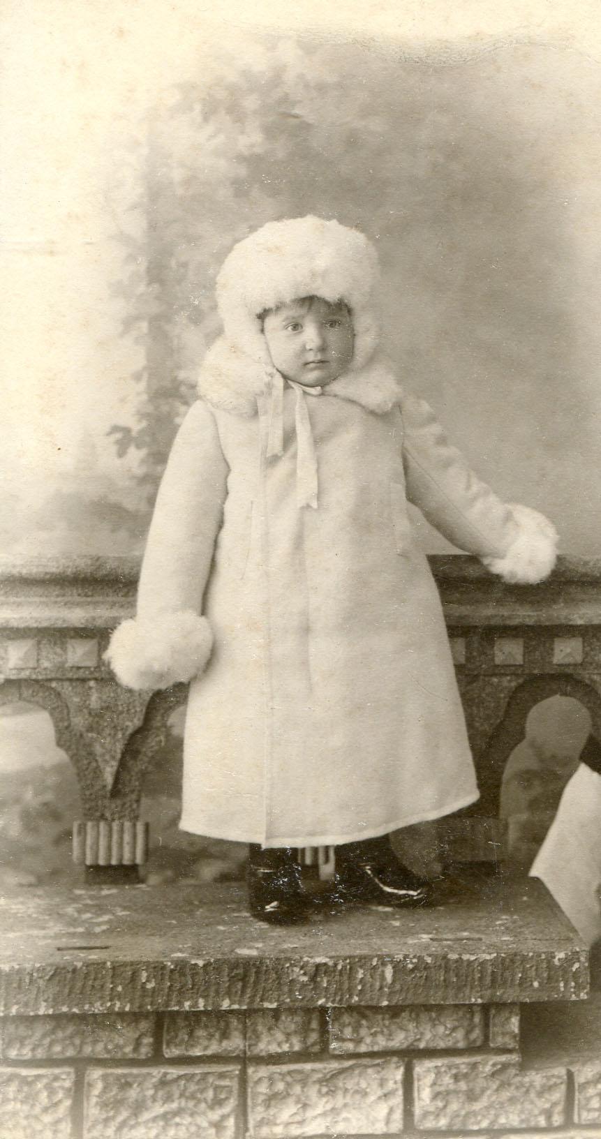 Портрет мальчика Вадима Жадина. 1903-1906
