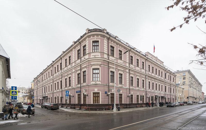 Здание Правления Московско-Киевско-Воронежской железной дорог