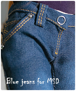 2017 blue jeans for MSD