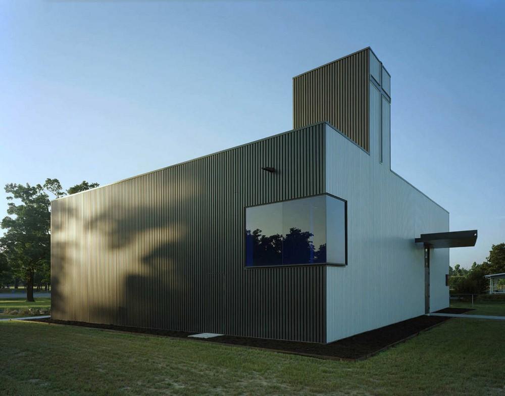 Необычный дизайн православного Свято-Никольского храма в США