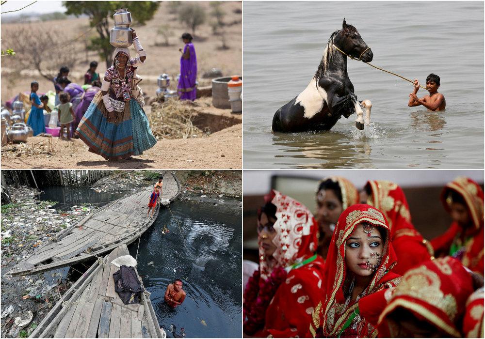 Фото повседневной жизни в Индии