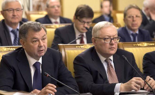 Россия уже подготовила несимметричный ответ на санкции США, - замглавы МИД РФ Рябков