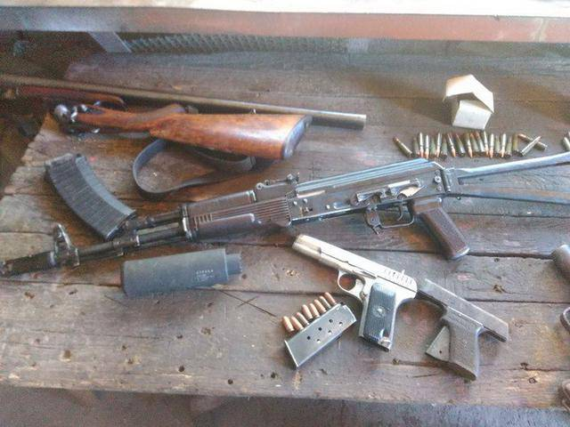 Задержан волонтер, наладивший канал поставок оружия из зоны АТО на Днепропетровщине, - СБУ. ФОТОреп