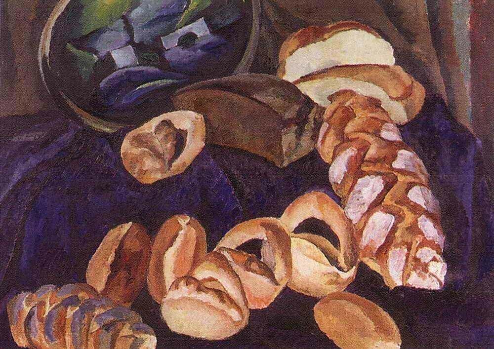 «Хлебы на синем»1913