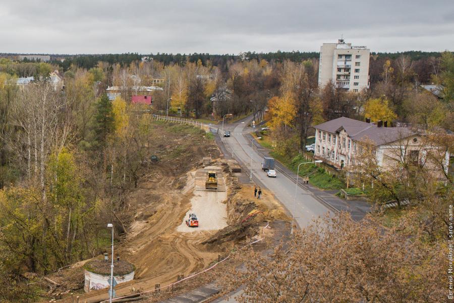 расширение дороги на октябрьском проспекте