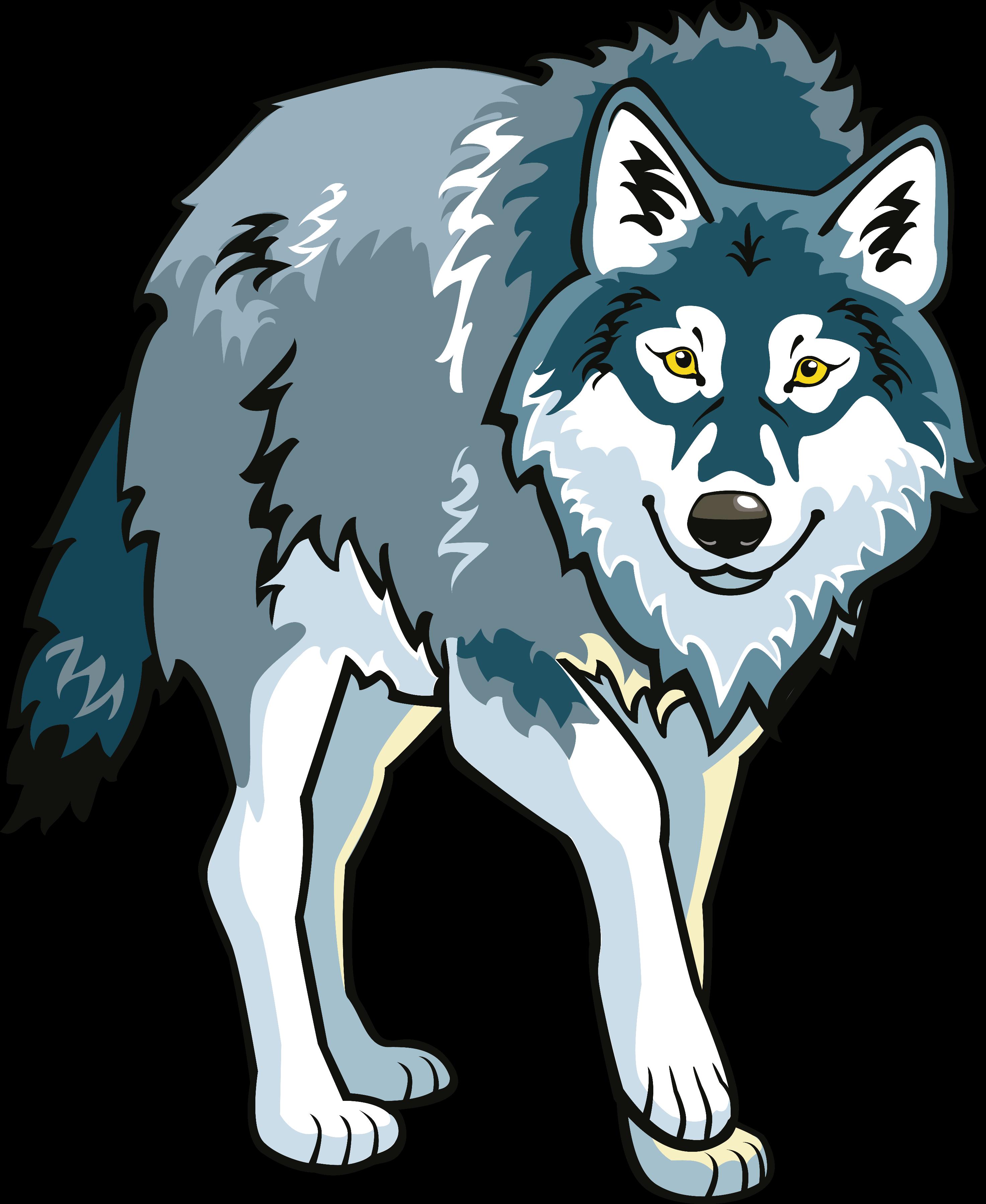 фото волка мультяшного