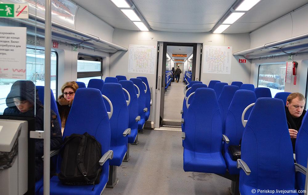 Тест МЦК: взглядом неместного пассажира