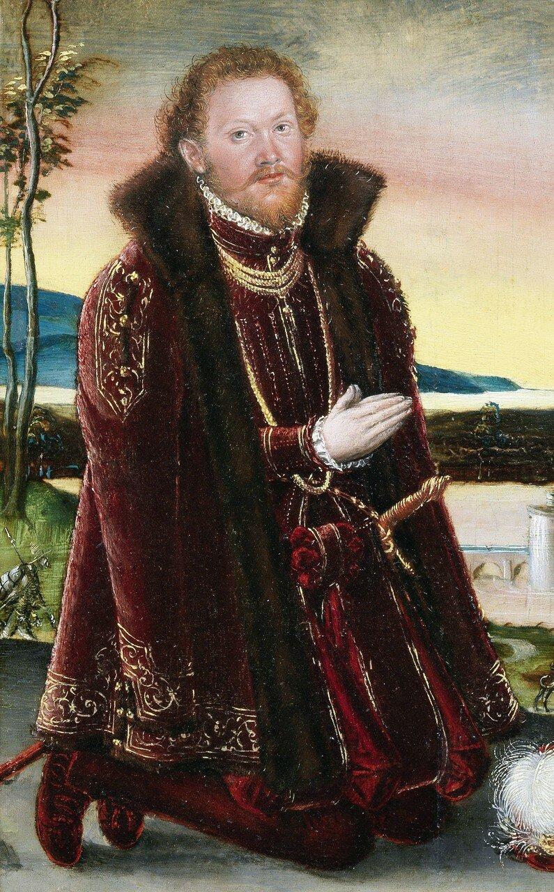 Prinz Joachim Ernst von Anhalt, by Lucas Cranach the Younger