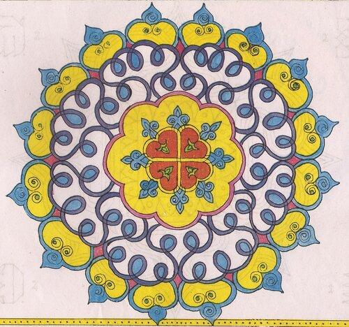 Ранголи - индийские картины