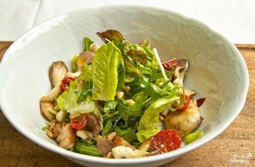 Рецепты салатов с грибами   большая подборка