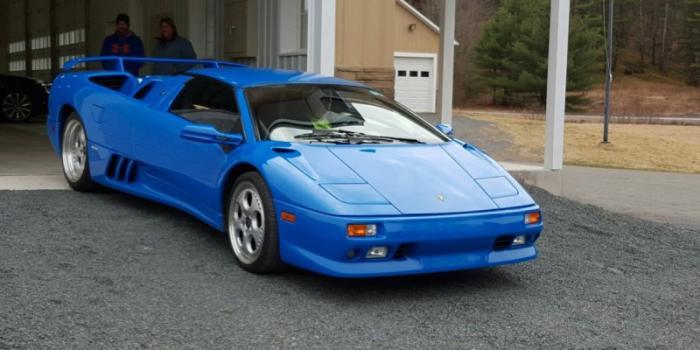Lamborghini Diablo Дональда Трампа продается на eBay