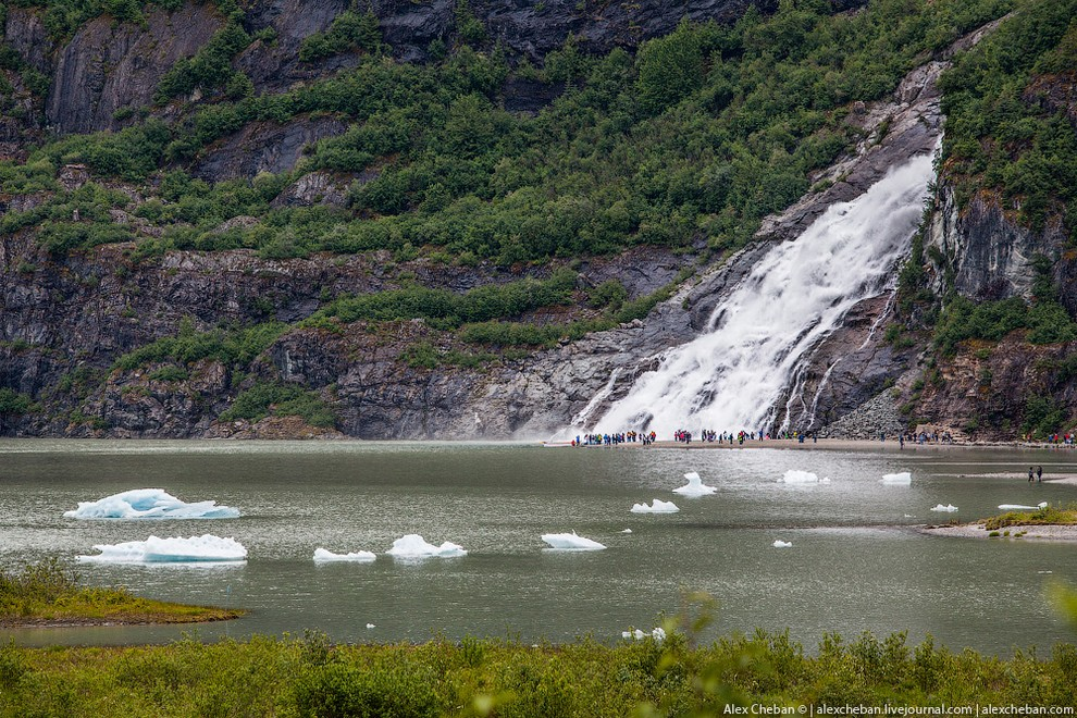 Ледники Аляски (29 фото)