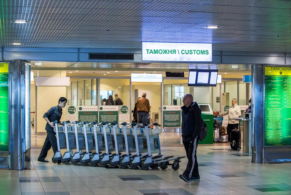 3. Во всех крупных аэропортах действует система «зеленого» и «красного» коридоров, которая позв