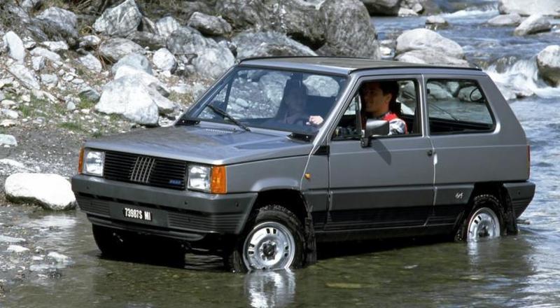 Fiat Panda 4×4 1983–86