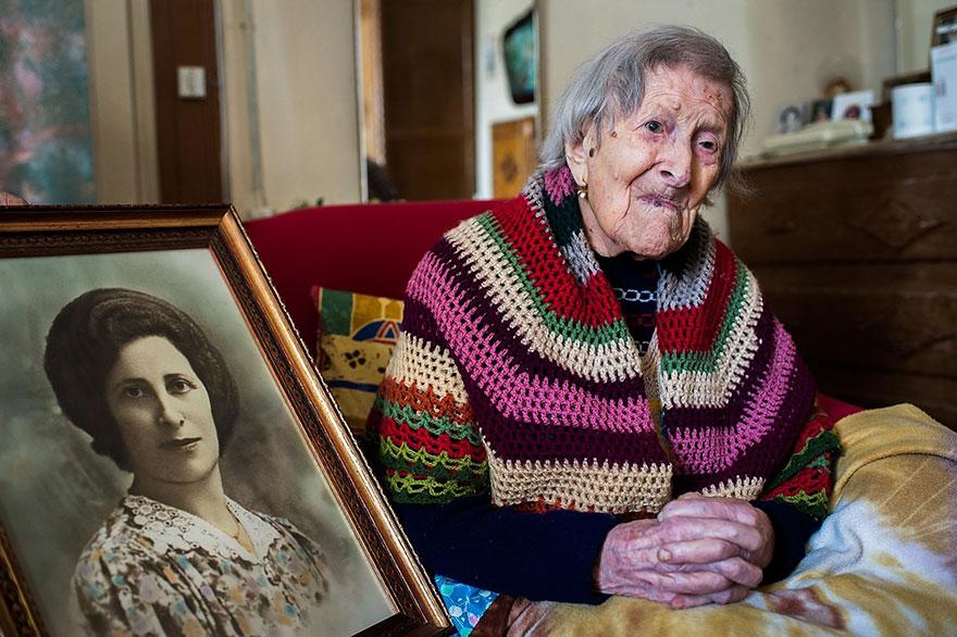 Последний человек XIX века Эмма Морано и ее секрет (5 фото)