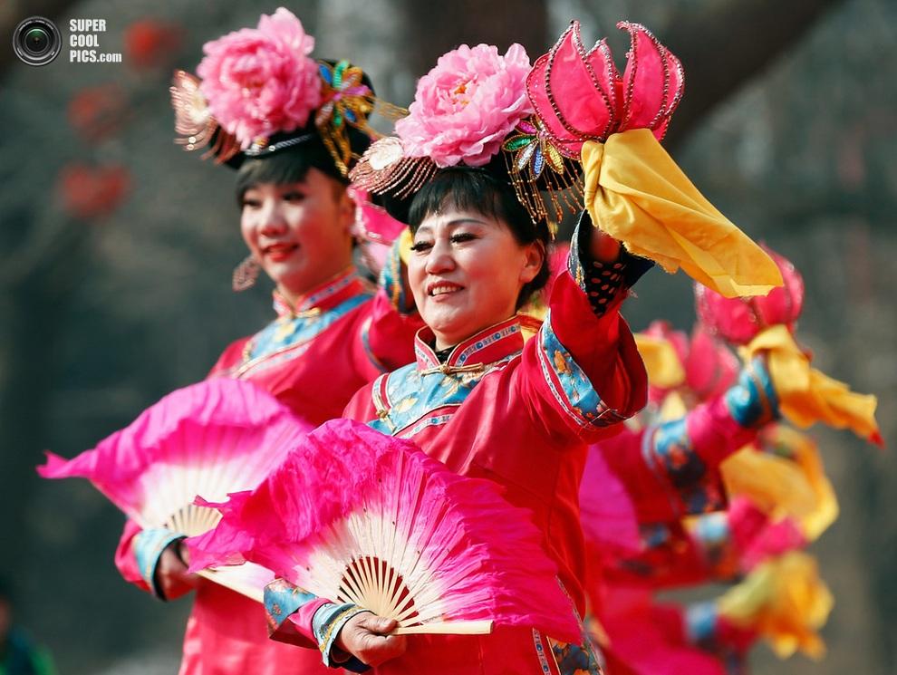 Начало празднеств.(Lintao Zhang/Getty Images)