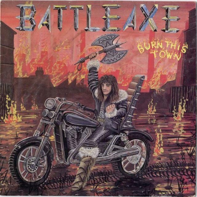 Альбом Burn This Town группы Battleaxe.