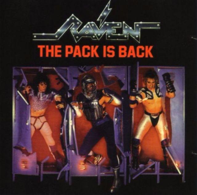 Альбом The Pack is Back группы Raven.