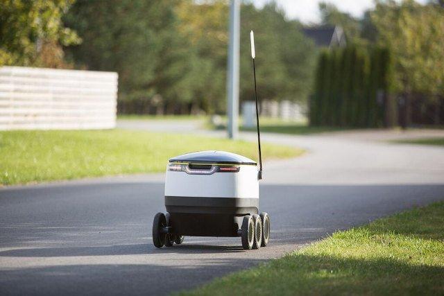 Робот-почтальон от создателей Skype (8 фото)