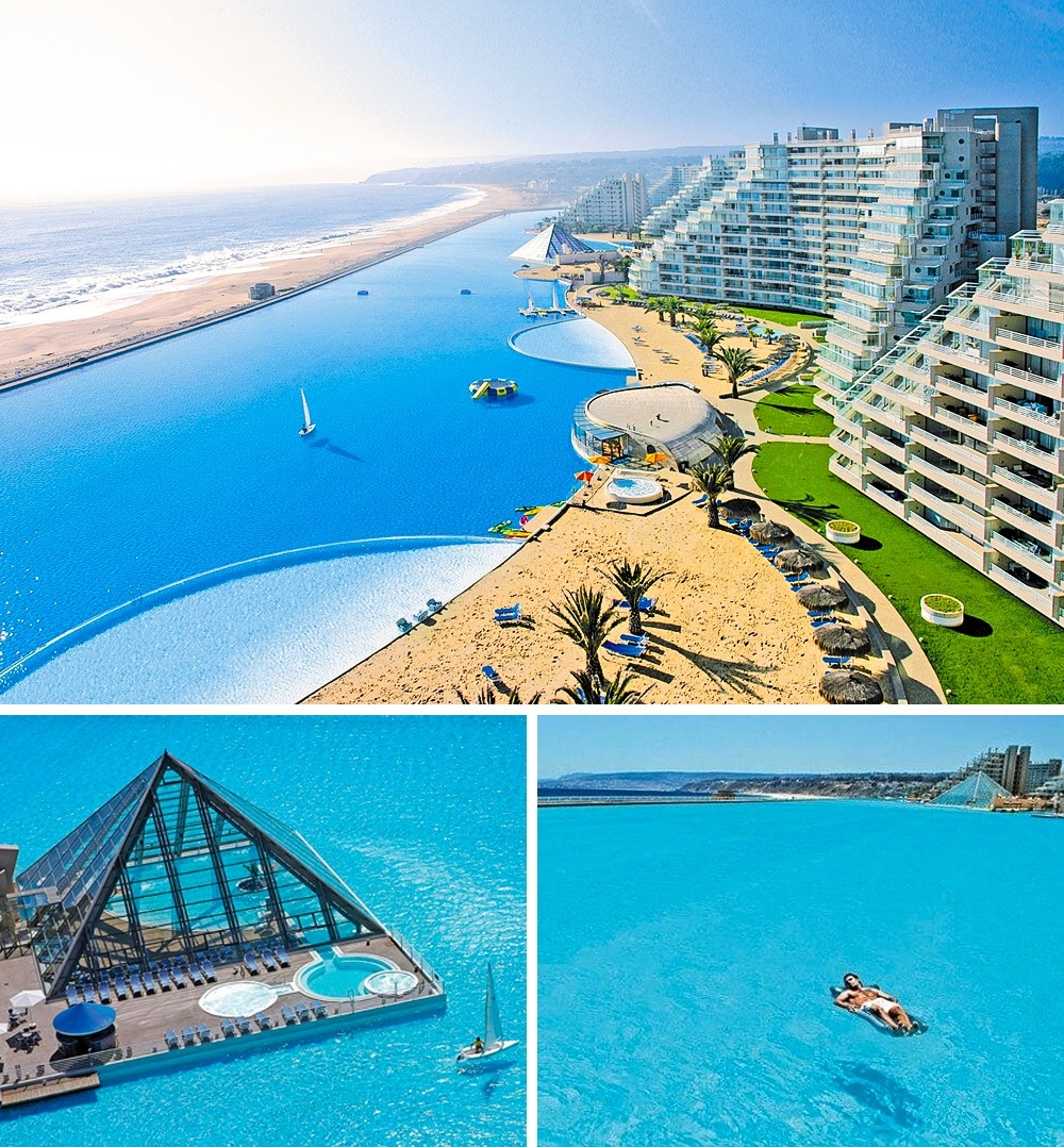 © San Alfonso del Mar Resort - Chile/Facebook   © San Alfonso del Mar Resort - Chile/Facebook &