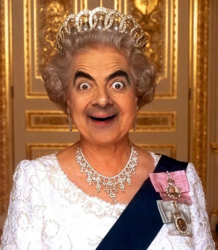 Королева Елизавета II Бин.