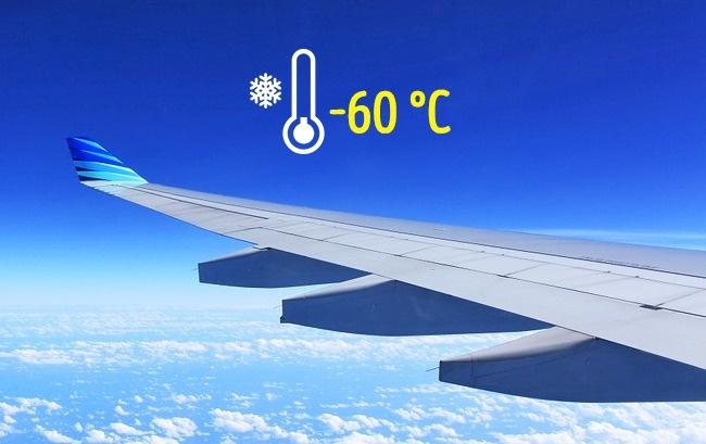 © pixabay.com  Температура забортом самолета может достигать —60—65 °С , что приводит кохлаж