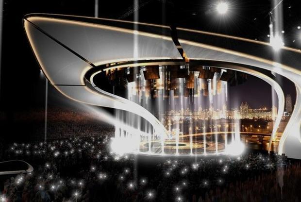 Организаторы «Евровидения-2017» представили прототип сцены
