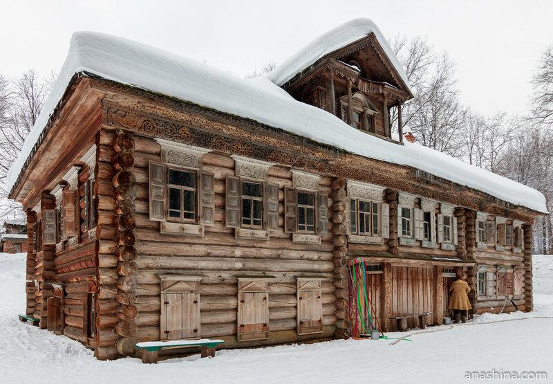 Дом Павловой середины XIX века из деревни Раково Ковернинского района