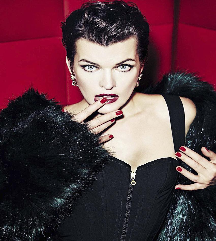 Milla Jovovich - Vanity Fair Italia (December 21, 2016)