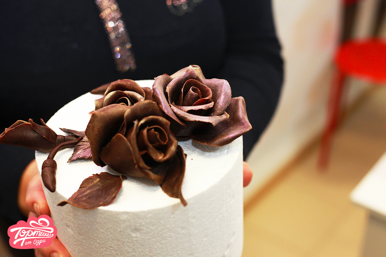 цветы из шоколада