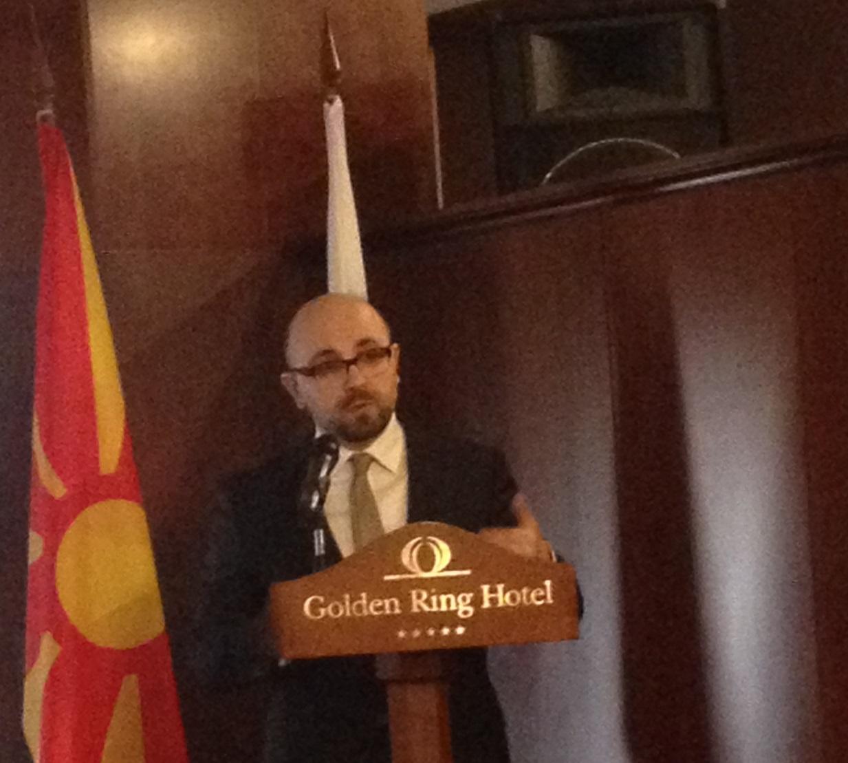 Посол Республики Македонии в Российской Федерации Гоце Караянов